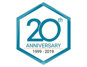 Ohio Lumex 20th Anniversary Logo
