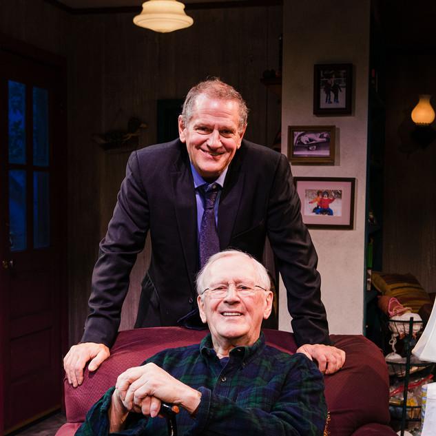 David Lansbury and Len Cariou