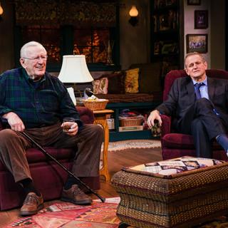 Len Cariou and David Lansbury