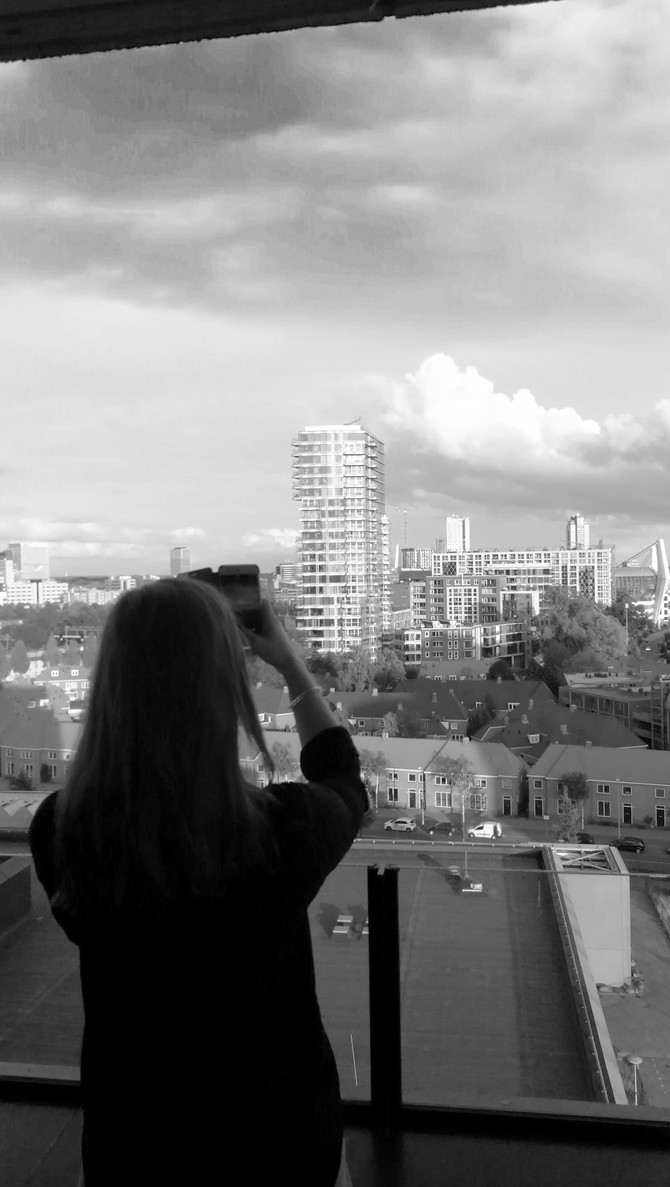 Photographing the city...
