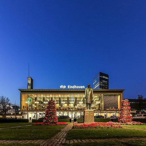 'Eindhoven Station' Lightbox