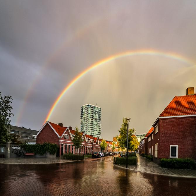 It's rainbow weather!