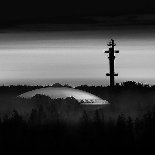 'Evoluon by night'