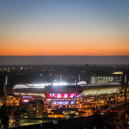 PSV evening glow