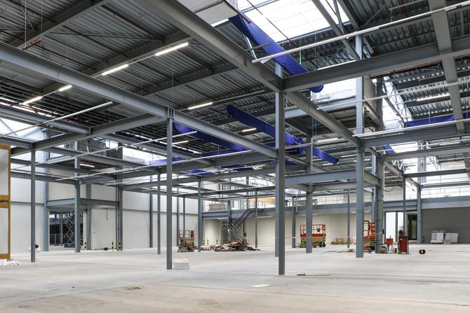 Brainport Industries Campus Construction Process