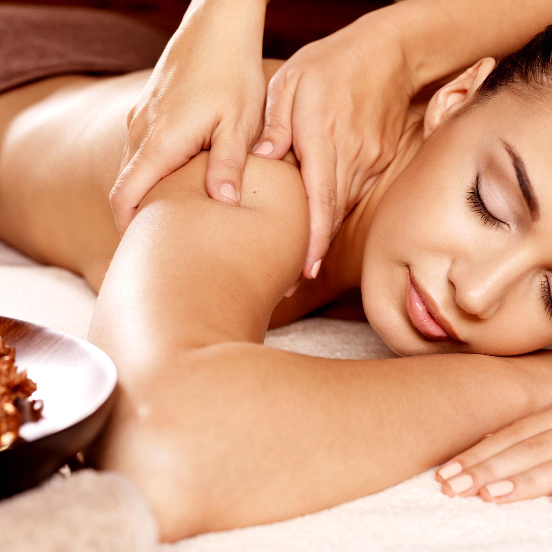 Neck + Shoulders Massage