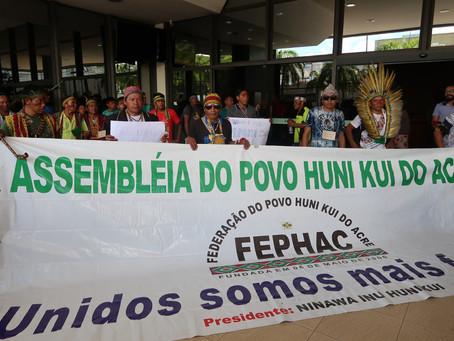 IV assembleia da Federação do povo Huni Kuin do Acre!