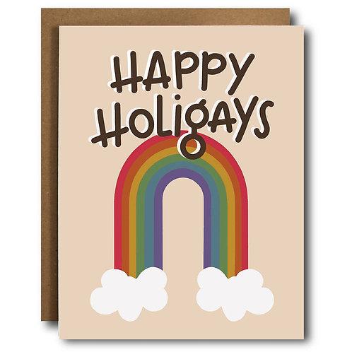 Holigays Pride LGBTQ Card