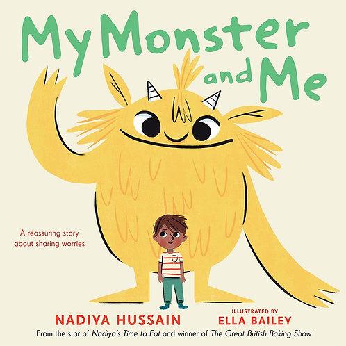 My Monster and Me by Nadiya Hussain, Ella Bailey