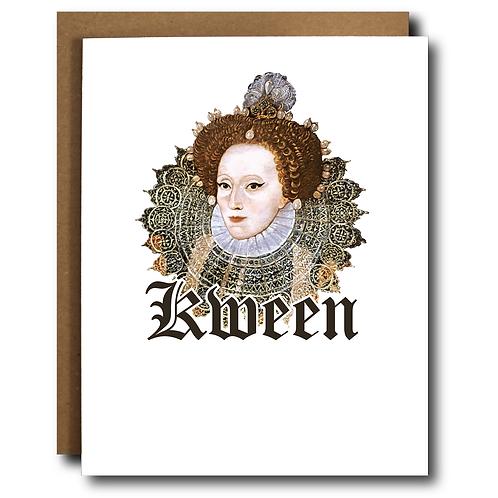 Kween Pride LBGTQ Card