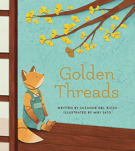 Golden Threads by Suzanne Del Rizzo, Miki Sato