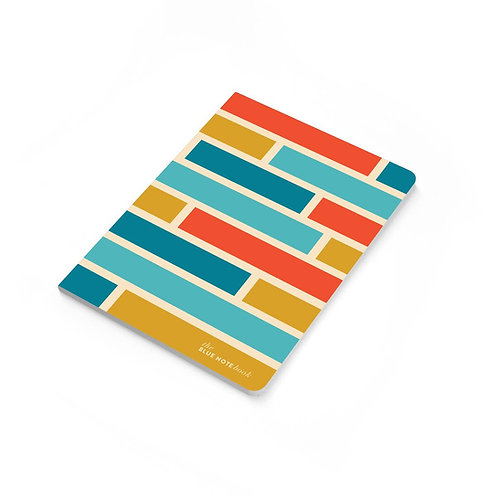 Subway Tiles Notebook by Paisley Paper Co.