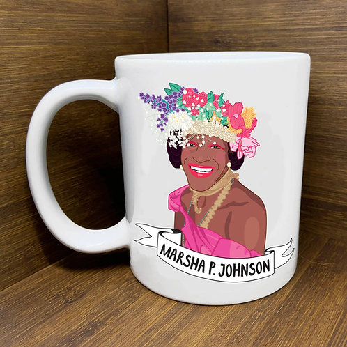 Marsha P. Johnson Mug by Citizen Ruth