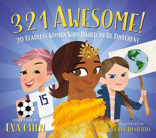 3 2 1 Awesome! by Eva Chen, Derek Desierto