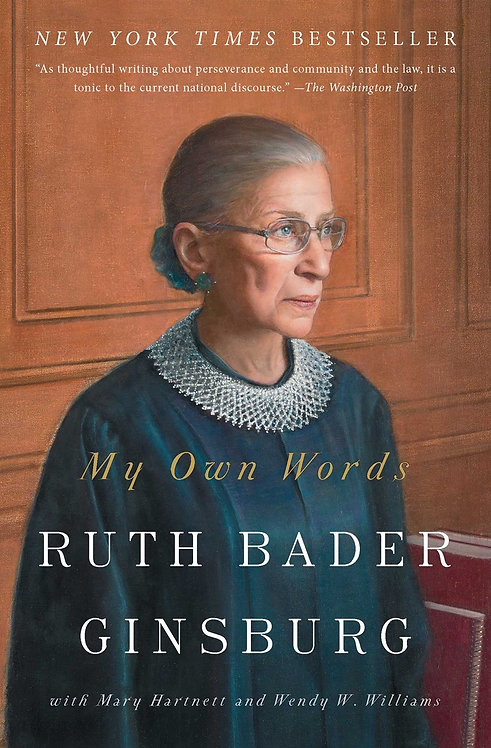 My Own Words (Paperback) by Ruth Bader Ginsburg