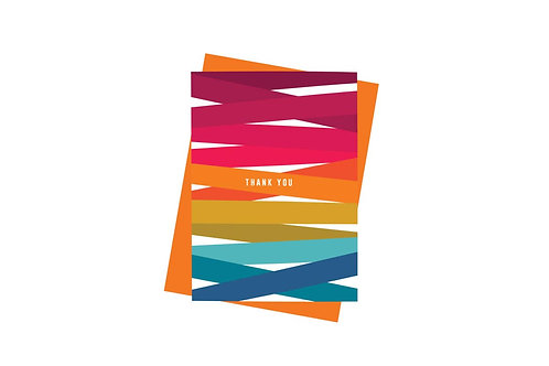 Thank You Card by Paisley Paper Co.