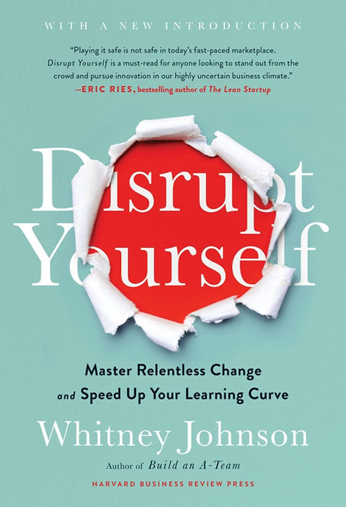 Distrupt Yourself (w/New Introduction) by Whitney Johnson