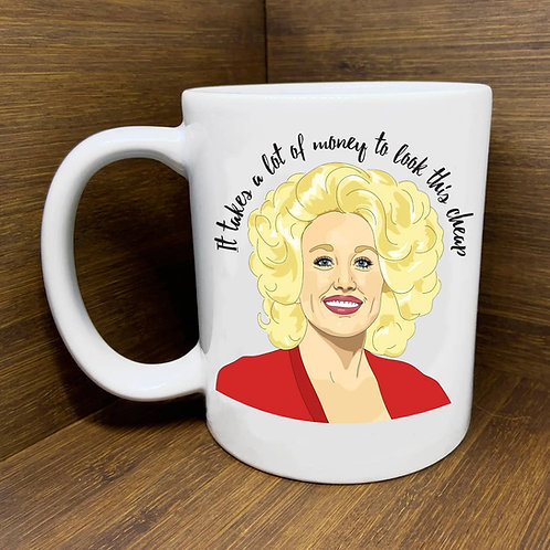 Dolly Parton Mug by Citizen Ruth