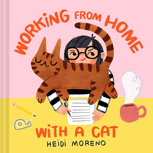 Working from Home with a Cat by Heidi Moreno