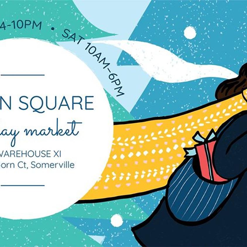 Union Square Holiday Market - Friday Night Fun