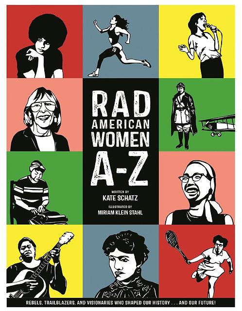 Rad American Women A-Z By Kate Schatz, Miriam Klein Stahl