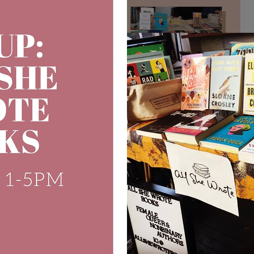 All She Wrote Popup Book Shop at JPKS