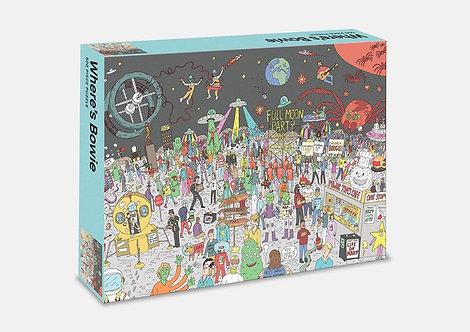 Where's Bowie?: 500 Piece Jigsaw Puzzle