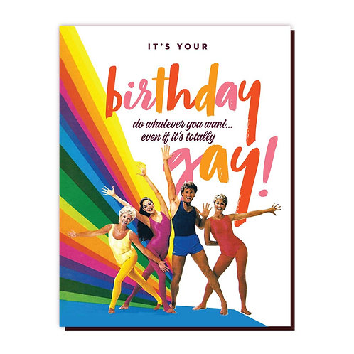 GAY BIRTHDAY Card by OffensiveDelightful