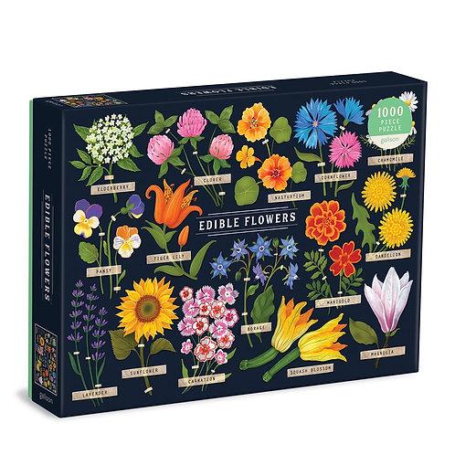 Edible Flowers 1000 Piece Puzzle