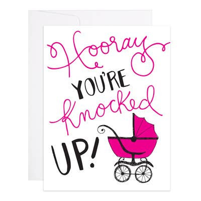 Knocked Up Card