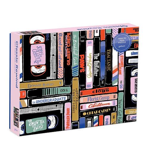 Classic Rewind 1000 Piece Foil Puzzle