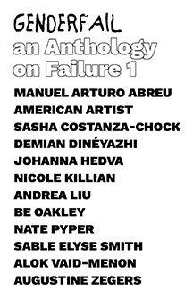 An Anthology on Failure, Vol. 1 by Be Oakley