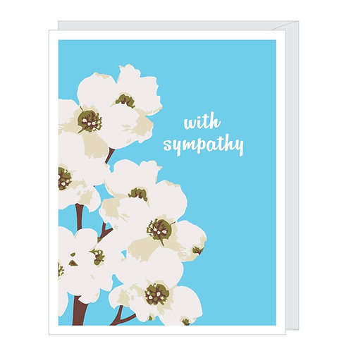 Sympathy Dogwood Greeted Card
