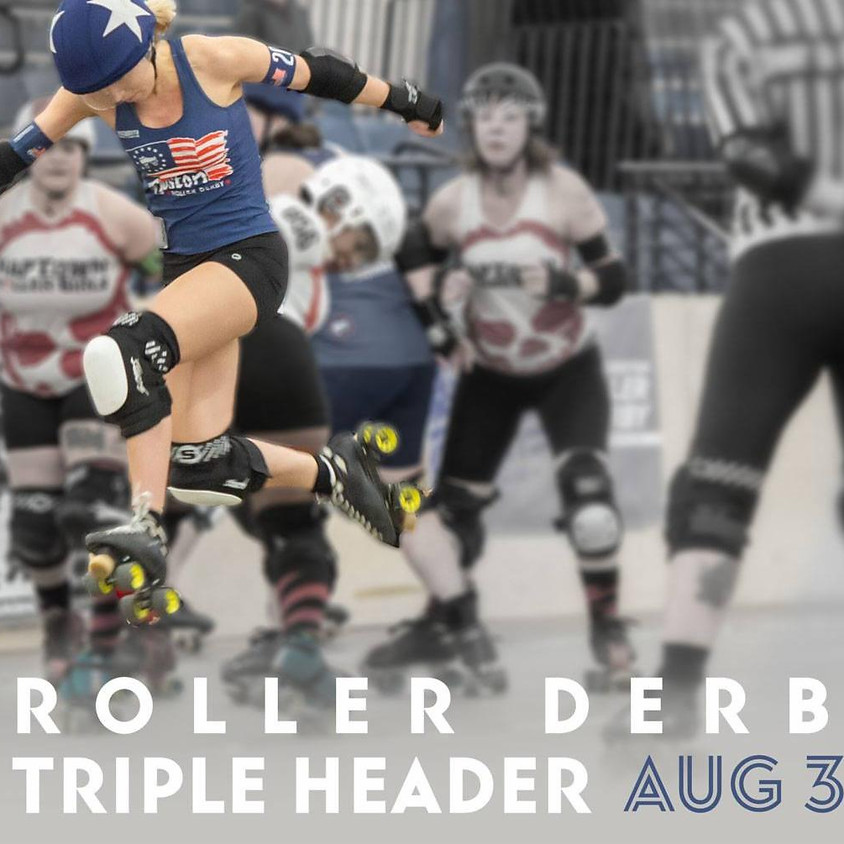 All She Wrote Books Pop-up @ Boston Roller Derby Triple Header