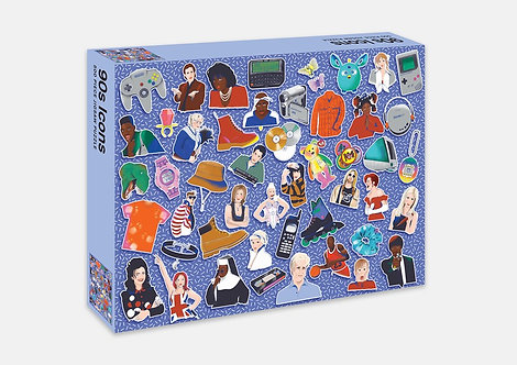 90s Icon Jigsaw Puzzle