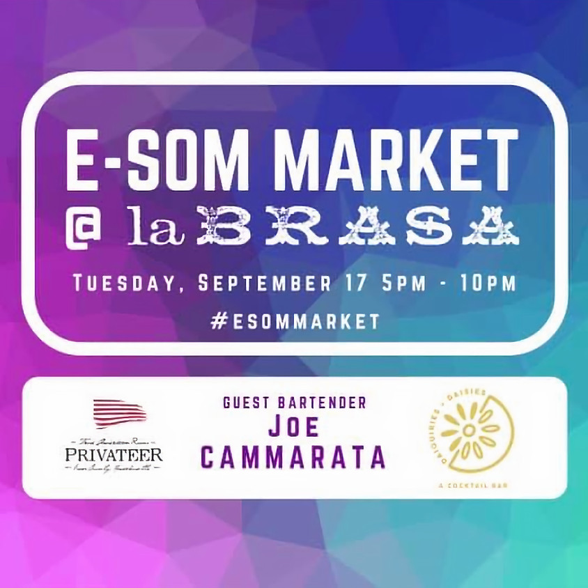 E-Som Market at Night - September