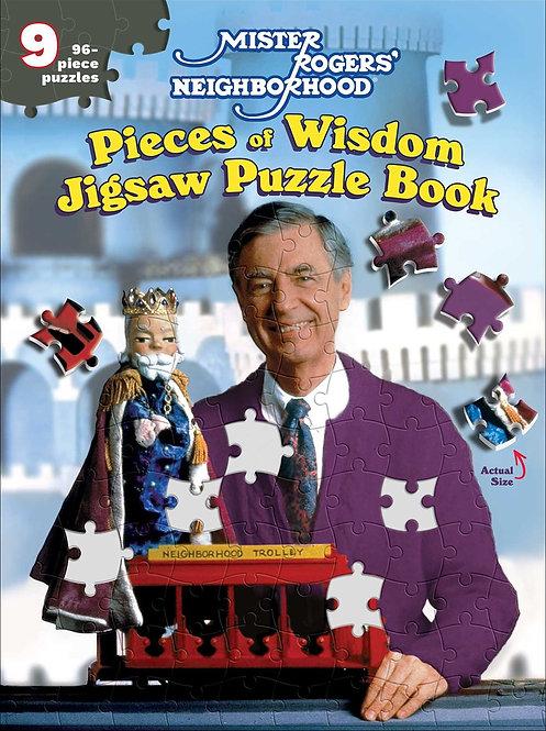 Mister Rogers' Neighborhood: Pieces of Wisdom Jigsaw Puzzle Book