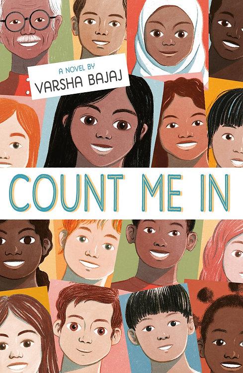 Count Me In by Varsha Bajaj