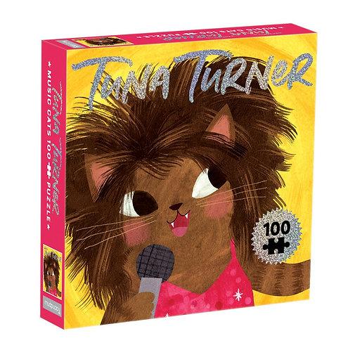 Tina Turner Music Cats 100 Piece Puzzle