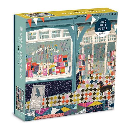 Book Haven 1000 Piece Puzzle In Square Box