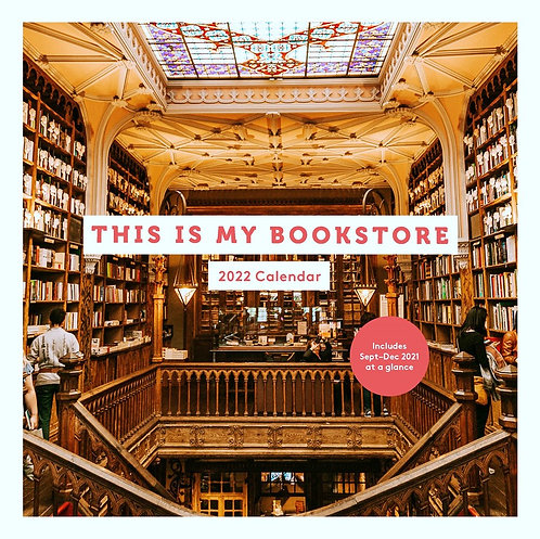 This Is My Bookstore 2022 Wall Calendar
