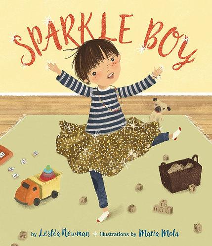 Sparkle Boy by Leslea Newman, Maria Mola