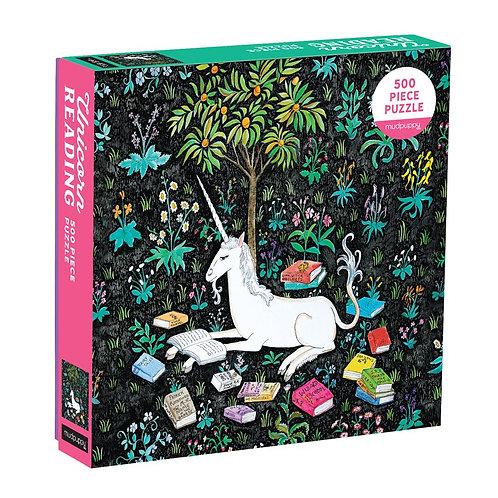 Unicorn Reading 500 Piece Family Puzzle