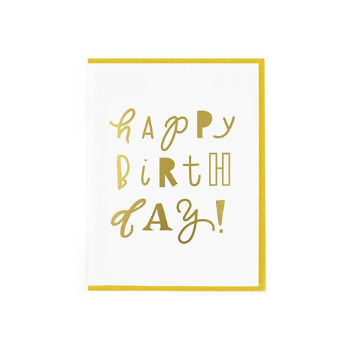 Happy Birthday Card by Paisley Paper Co.