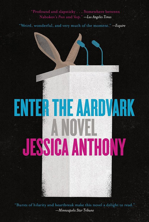 Enter the Aardvark (Paperback) by Jessica Anthony