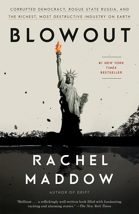 Blowout (Paperback) by Rachel Maddow