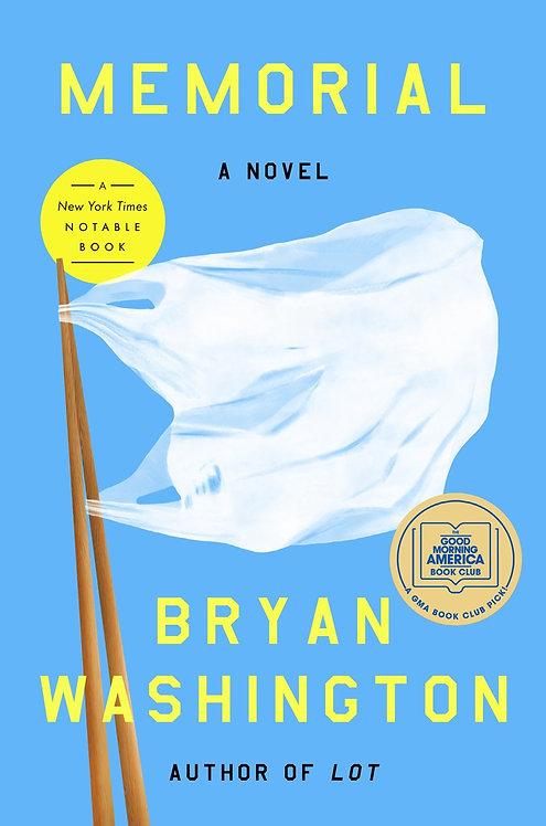 Memorial: A Novel by Bryan Washington