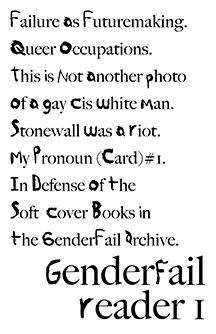 GenderFail Reader 1 by Be Oakley