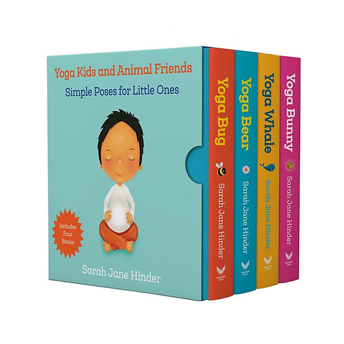Yoga Kids and Animals Friends Boxed Set by Sarah Jane Hinder