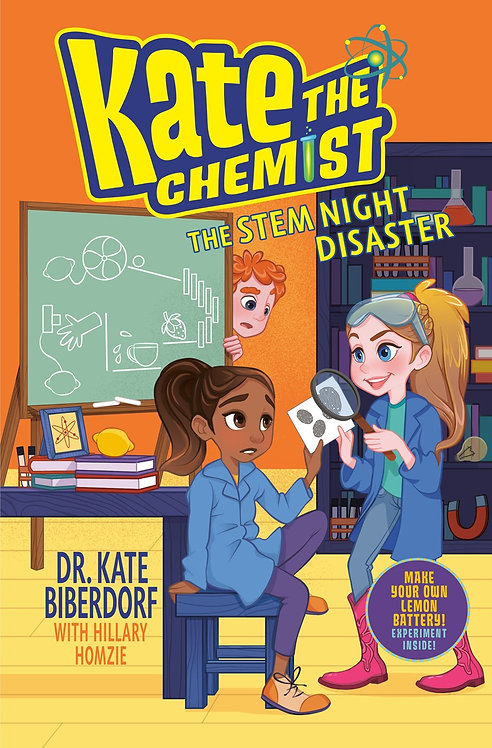 The STEM Night Disaster (Book #3) by Kate Biberdorf